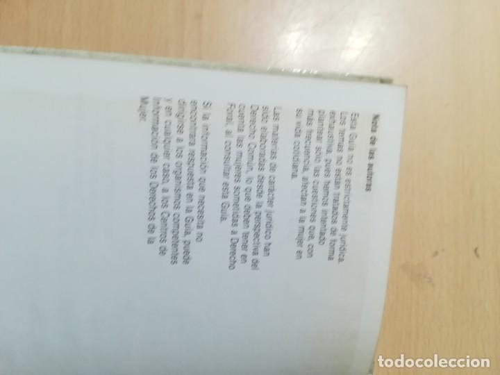 Libros de segunda mano: GUIA DE LOS DERECHOS DE LA MUJER 1984 / LUCIA RUANO / GUIAS 1 MINISTERIO CULTURA / AK72 - Foto 5 - 288530943
