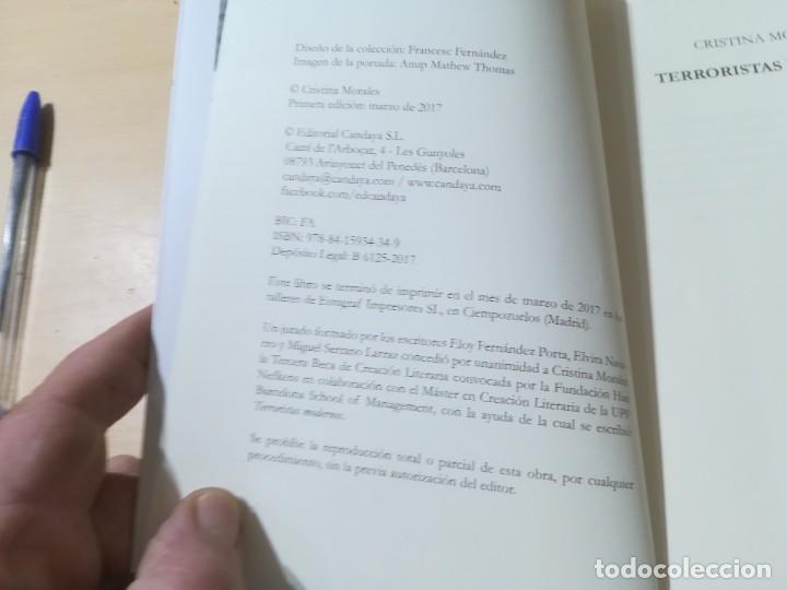Libros de segunda mano: TERRORISTAS MODERNOS / CRISTINA MORALES / CANDAYA / AK81 - Foto 8 - 288537328