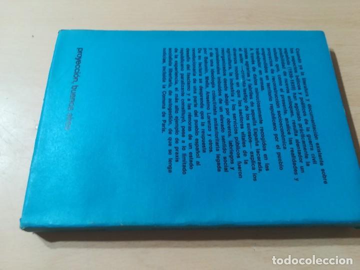 Libros de segunda mano: COLECTIVIDADES LIBERTARIAS EN ESPAÑA / GASTON LEVAN / PROYECCION / AK81 - Foto 2 - 288537578