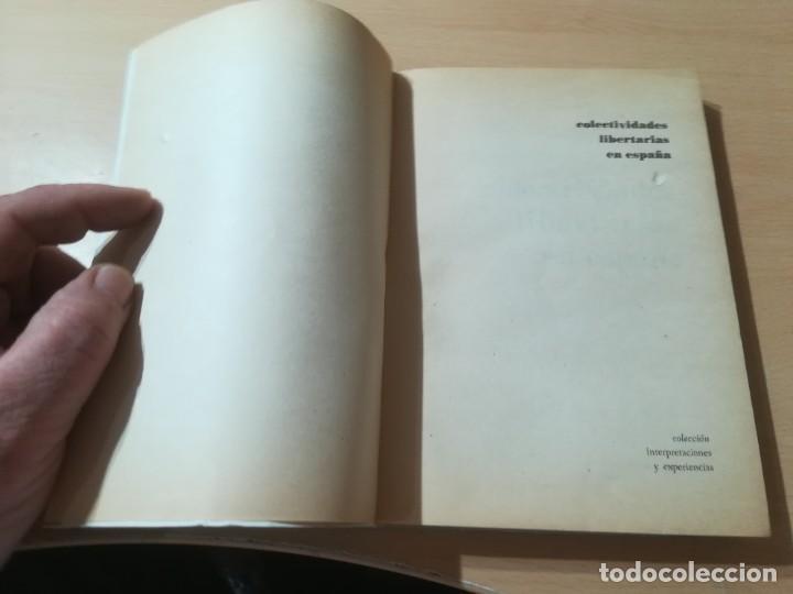 Libros de segunda mano: COLECTIVIDADES LIBERTARIAS EN ESPAÑA / GASTON LEVAN / PROYECCION / AK81 - Foto 4 - 288537578