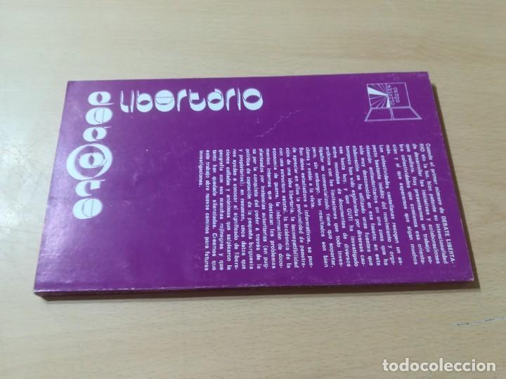 Libros de segunda mano: COLETIVIDADES LIBERTARIAS EN CASTILLA / JOSE LUIS GUTIERREZ MOLINA / CAMPO ABIERTO / AK81 - Foto 2 - 288537973