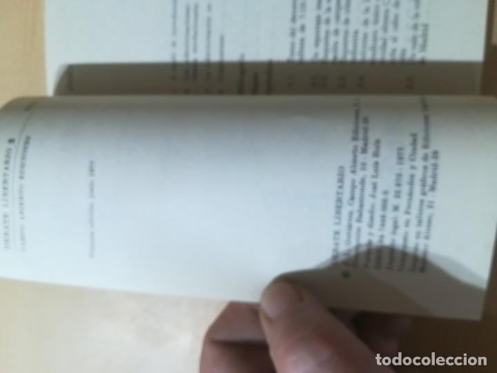 Libros de segunda mano: COLETIVIDADES LIBERTARIAS EN CASTILLA / JOSE LUIS GUTIERREZ MOLINA / CAMPO ABIERTO / AK81 - Foto 7 - 288537973