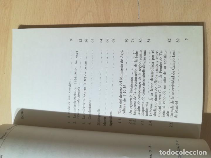 Libros de segunda mano: COLETIVIDADES LIBERTARIAS EN CASTILLA / JOSE LUIS GUTIERREZ MOLINA / CAMPO ABIERTO / AK81 - Foto 8 - 288537973