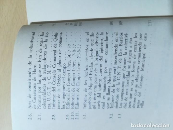 Libros de segunda mano: COLETIVIDADES LIBERTARIAS EN CASTILLA / JOSE LUIS GUTIERREZ MOLINA / CAMPO ABIERTO / AK81 - Foto 9 - 288537973