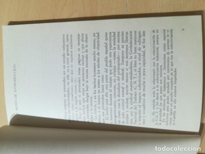 Libros de segunda mano: COLETIVIDADES LIBERTARIAS EN CASTILLA / JOSE LUIS GUTIERREZ MOLINA / CAMPO ABIERTO / AK81 - Foto 10 - 288537973