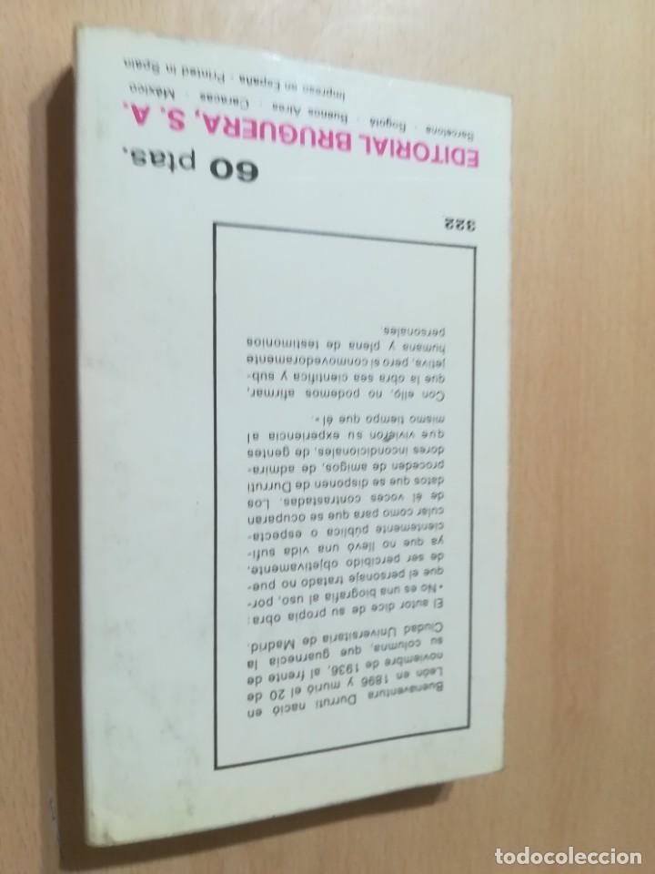 Libros de segunda mano: DURRUTI - LA GUERRA CIVIL ESPAÑOLA / JULIO C ACERETE / BRUGERA / AL88 - Foto 2 - 288543613