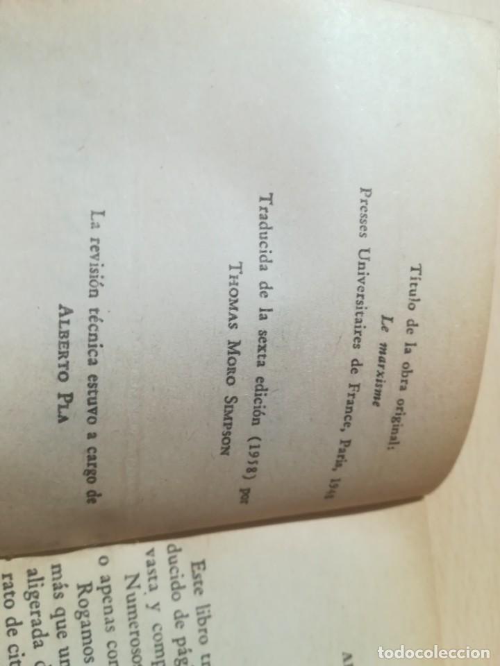 Libros de segunda mano: EL MARXISMO / HENRI LEFEBVRE / UNIVERSITAS, BUENOS AIRES / AL88 - Foto 6 - 288543998