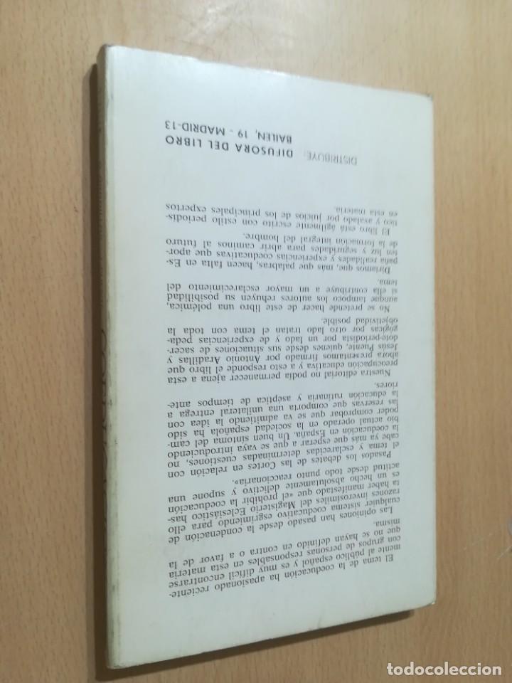 Libros de segunda mano: COEDUCACION / ANTONI ARADILLAS, JESUS PUENTE / STUDIUN / AL88 - Foto 2 - 288546268