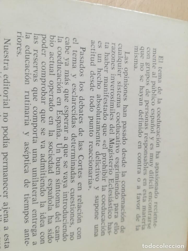 Libros de segunda mano: COEDUCACION / ANTONI ARADILLAS, JESUS PUENTE / STUDIUN / AL88 - Foto 3 - 288546268