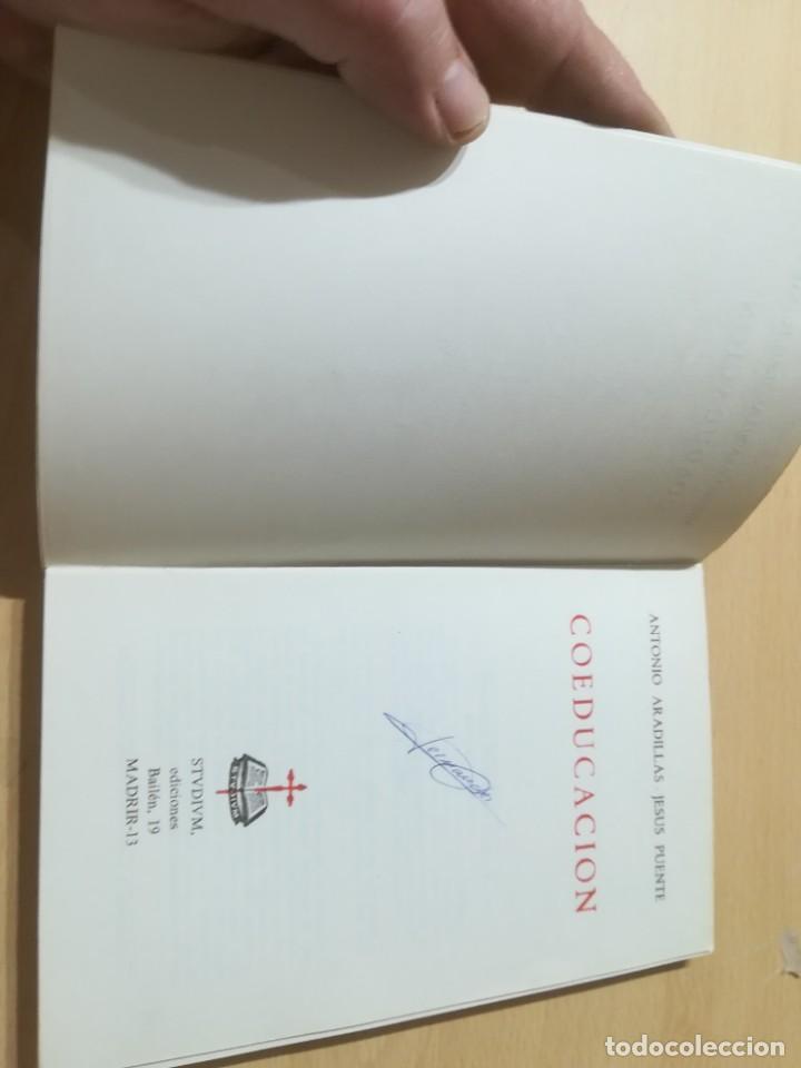Libros de segunda mano: COEDUCACION / ANTONI ARADILLAS, JESUS PUENTE / STUDIUN / AL88 - Foto 5 - 288546268
