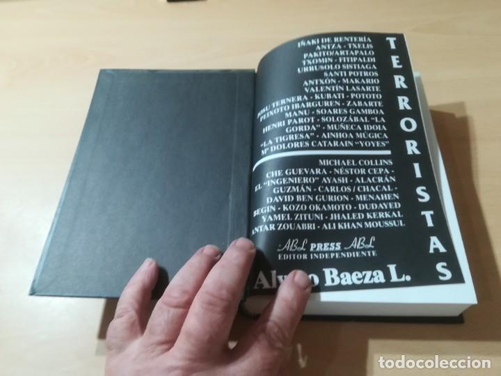 Libros de segunda mano: TERRORISTAS / ALVARO BAEZA / EDITOR INDEPENDIENTE / AL88 - Foto 3 - 288551188