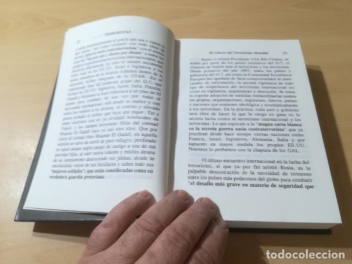Libros de segunda mano: TERRORISTAS / ALVARO BAEZA / EDITOR INDEPENDIENTE / AL88 - Foto 7 - 288551188