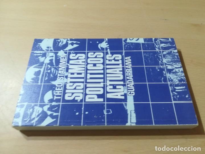 SISTEMAS POLITICOS ACTUALES / THEO STAMMEN / GUADARRAMA / AL57 (Libros de Segunda Mano - Pensamiento - Política)