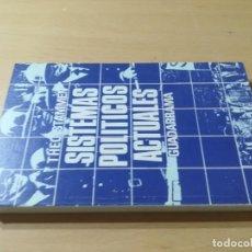 Libros de segunda mano: SISTEMAS POLITICOS ACTUALES / THEO STAMMEN / GUADARRAMA / AL57. Lote 288552268