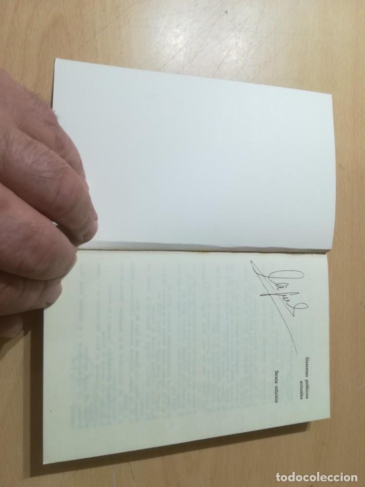 Libros de segunda mano: SISTEMAS POLITICOS ACTUALES / THEO STAMMEN / GUADARRAMA / AL57 - Foto 4 - 288552268