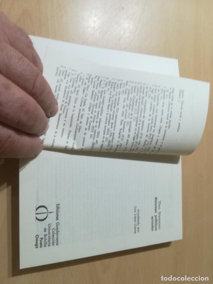 Libros de segunda mano: SISTEMAS POLITICOS ACTUALES / THEO STAMMEN / GUADARRAMA / AL57 - Foto 6 - 288552268