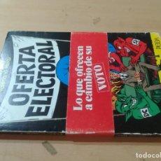 Libros de segunda mano: OFERTA ELECTORAL, LO QUE OFRECEN A CAMBIO DE SU VOTO / ALFONSO DIEZ, VALERIANO HERAS / / AL78. Lote 288552453