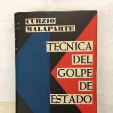 Libros de segunda mano: CURZIO MALAPARTE. TÉCNICA DEL GOLPE DE ESTADO. BONAPARTE, LENIN, TROTSKY, MUSSOLINI,.. BARNA, 1958.. Lote 294074488