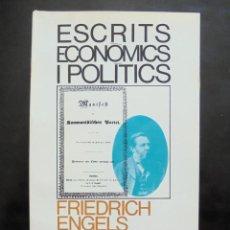 Libros de segunda mano: ESCRITS ECONÒMICS I POLÍTICS FRIEDRICH ENGELS IMPECABLE 1A ED. 1968. ANTOLOGIA DE TEXTOS (1844-1895). Lote 297120508