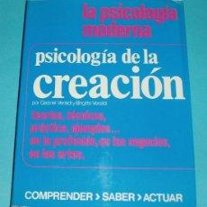 Libros de segunda mano: PSICOLOGÍA DE LA CREACIÓN. G. VERALDI Y B. VERALDI. EDIT. MENSAJERO. 1974. PÁG. 256. Lote 26534752