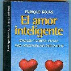 Libros de segunda mano: EL AMOR INTELIGENTE - CORAZON Y CABEZA: CLAVES PARA CONSTRUIR UNA PAREJA FELIZ (1997). Lote 25729373