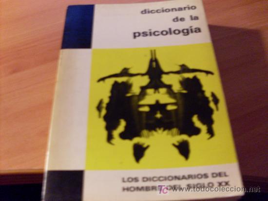 DICCIONARIO PSICOLOGIA (Libros de Segunda Mano - Pensamiento - Psicología)