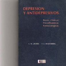 Libros de segunda mano: DEPRESION Y ANTIDEPRESIVOS - L. M. ZIEHER Y S. L. ROJTENBERG - CTM -. Lote 21519631