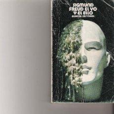 Libros de segunda mano: SIGMUND FREUD EL YO Y EL ELLO - ALIANZA EDITORIAL -. Lote 17768295