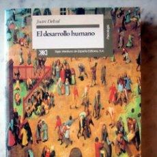 Libros de segunda mano: EL DESAROLLO HUMANO, POR JUAN DEVAL. Lote 26829885