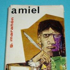 Libros de segunda mano: AMIEL. GREGORIO MARAÑON. CÍRCULO DE LECTORES. Lote 27346195