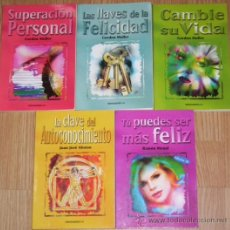 Libros de segunda mano: CINCO LIBROS DE AUTOAYUDA PSICOLÓGICA POR GORDON MULLER, J.J. ALONSO Y RAMÓN MENAL, EDICOMUNICACIÓN. Lote 26795725