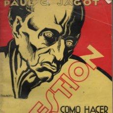 Libros de segunda mano: SUGESTION .PAUL JAGOT .. Lote 26788322