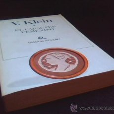 Libros de segunda mano: EL CARACTER FEMENINO. V. KLEIN. PAIDOS STUDIO, 1980.. Lote 27983455
