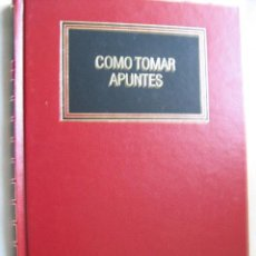 Libros de segunda mano: CÓMO TOMAR APUNTES . 1993. DEUSTO. Lote 29033111