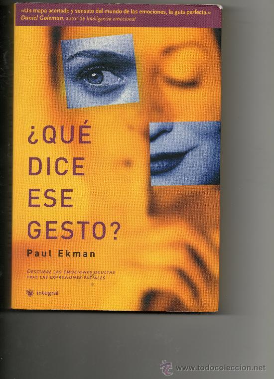 DESCARGAR QUE DICE ESE GESTO PAUL EKMAN PDF @tataya.com.mx