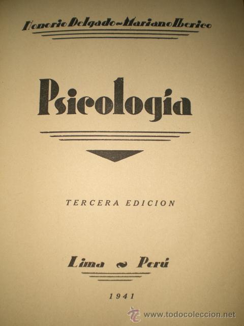 Libros de segunda mano: PSICOLOGÍA (1941) - Foto 2 - 29185076