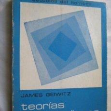 Libros de segunda mano: TEORÍAS NO FREUDIANAS DE LA PERSONALIDAD. GEIWITZ, JAMES. 1977. Lote 29323975
