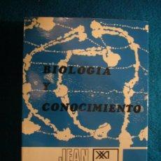 Libros de segunda mano: JEAN PIAGET: - BIOLOGIA Y CONOCIMIENTO -. Lote 29570221