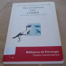 Libros de segunda mano: TRASTORNOS DEL COMER - BIBLIOTECA DE PSICOLOGIA - HERDER 1994. Lote 29881661