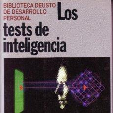 Libros de segunda mano: LOS TEST DE INTELIGENCIA. Lote 30346094
