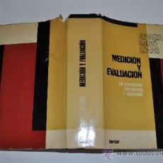 Libros de segunda mano: MEDICIÓN Y EVALUACIÓN EN EDUCACIÓN,PSICOLOGÍA Y GUIDANCE GEORGIA SACHS ADAMS AB13034. Lote 31753046