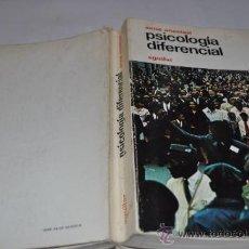 Libros de segunda mano: PSICOLOGÍA DIFERENCIAL ANNE ANASTASI RX7356. Lote 31917136