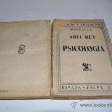 Libros de segunda mano: PSICOLOGÍA ABEL REY RA1423. Lote 32029958