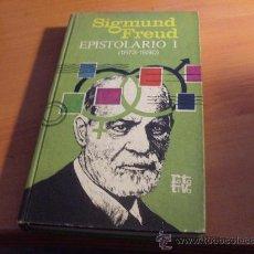 Libros de segunda mano: EPISTOLARIO I ( SIGMUND FREUD) TAPA DURA PRIMERA EDICION 1970 (LE4). Lote 32322766