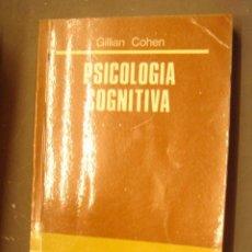 Libros de segunda mano: PSICOLOGIA COGNITIVA Nº 9 - GILLIAN COHEN - AÑO 1983 - ED. ALHAMBRA. Lote 32408772