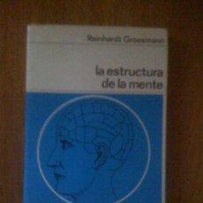 Libros de segunda mano: LA ESTRUCTURA DE LA MENTE. DE REINHARDT GROSSMANN. LABOR, 1969. Lote 35172598