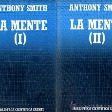 Libros de segunda mano: CIENTÍFICA SALVAT Nº21/22 - SMITH : LA MENTE (1985) DOS TOMOS. Lote 35331712