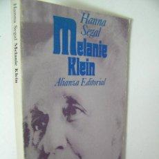 Libros de segunda mano: MELANIE KLEIN, HANNA SEGAL, 1985, ALIANZA ED,REF PSICOLOGIA BS2. Lote 35974011