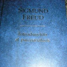 Libros de segunda mano: INTRODUCCION AL PSICOANALISIS, POR SIGMUND FREUD - ALTAYA - ESPAÑA - 1999. Lote 37520781