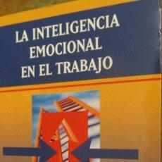 Libros de segunda mano: LA INTELIGENCIA EMOCIONAL EN EL TRABAJO DE HENDRIE WEISINGER (JOSÉ VERGARA). Lote 38647656